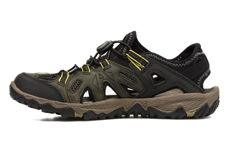 Sport shoes Merrell Allout Blaze Sieve Black front view