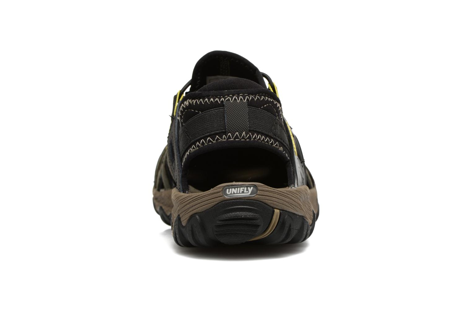 Sport shoes Merrell Allout Blaze Sieve Black view from the right