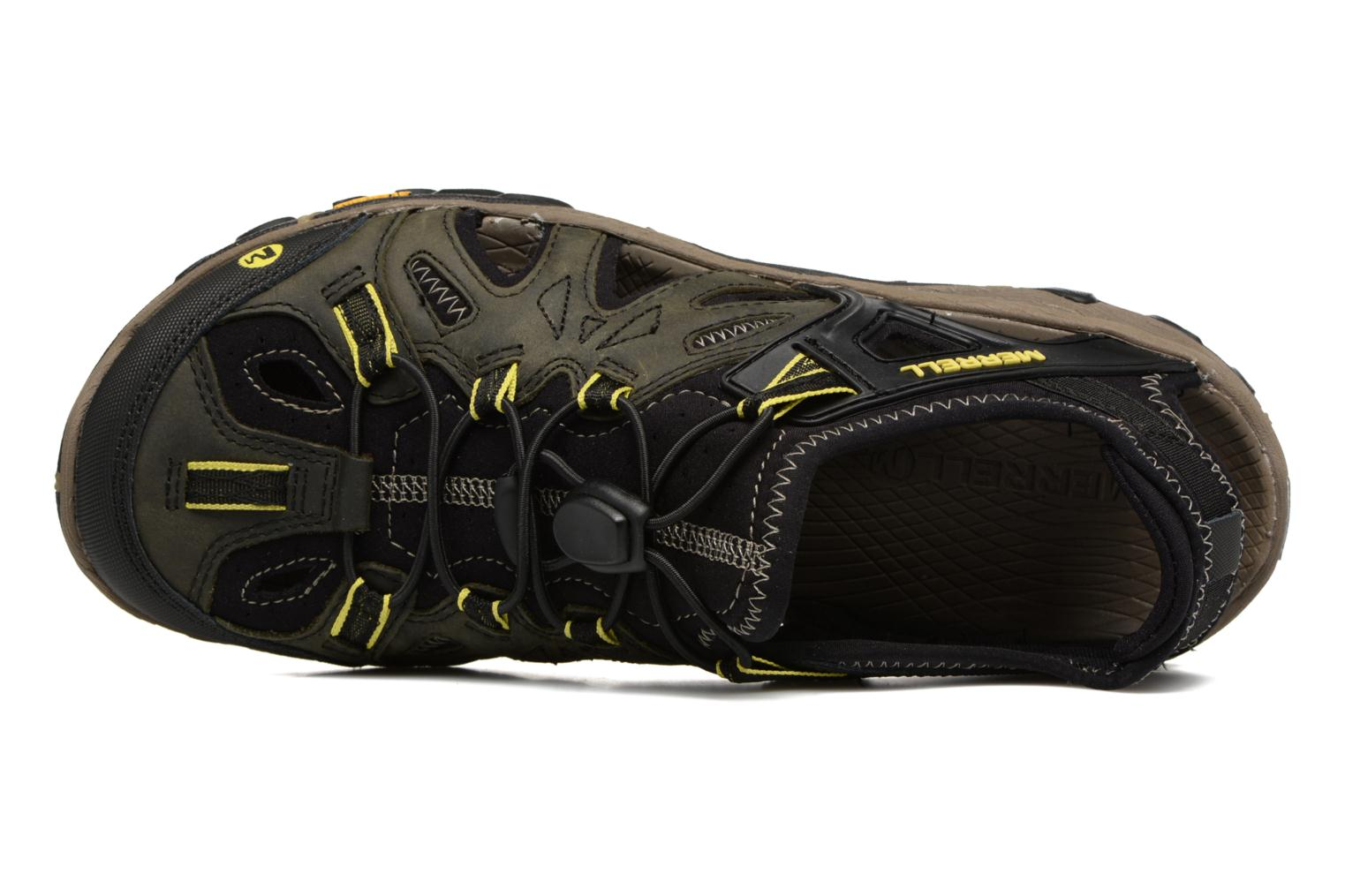 Sport shoes Merrell Allout Blaze Sieve Black view from the left