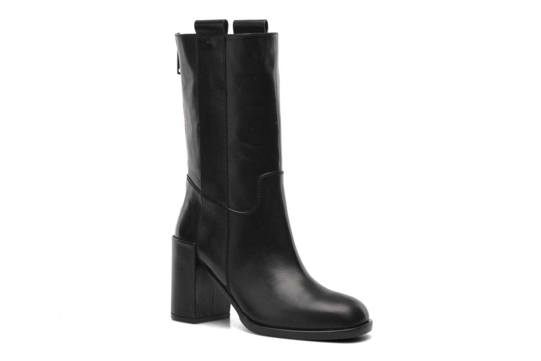 Ankle boots Kallisté 5070 Black detailed view/ Pair view