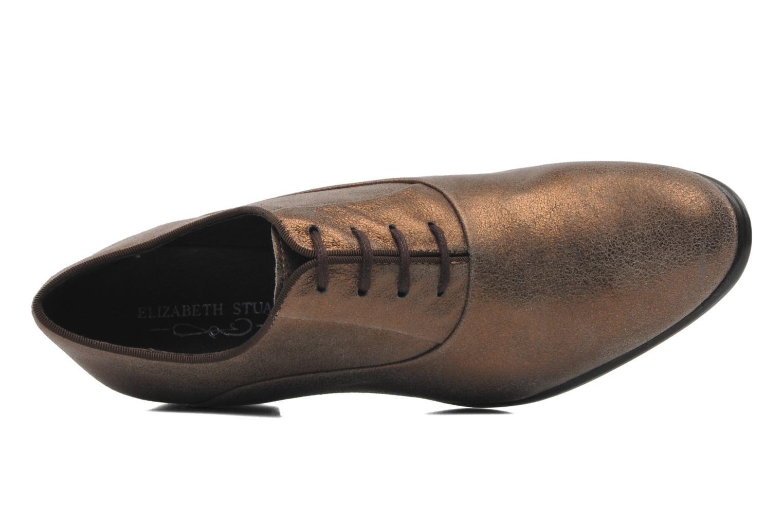 Chaussures à lacets Elizabeth Stuart Estac 310 Marron vue gauche