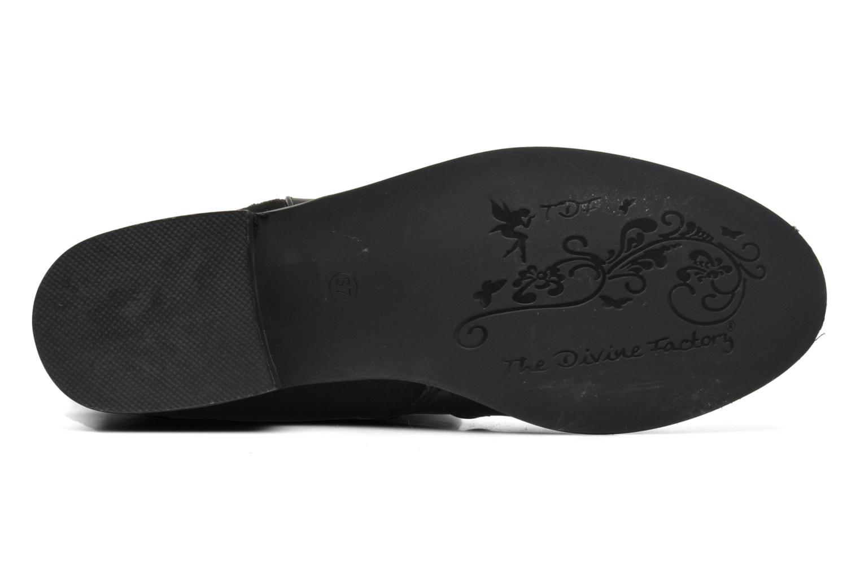 Laarzen Divine Factory D-fric Zwart boven