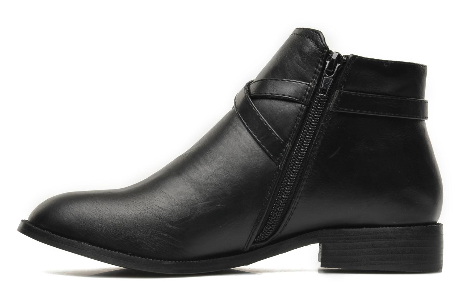 Ankle boots Divine Factory D-cable Black front view