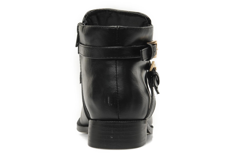 Bottines et boots Divine Factory D-cable Noir vue droite