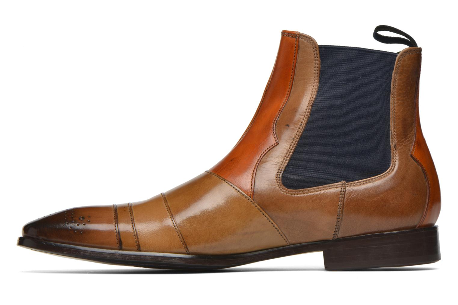 Ankle boots Melvin & Hamilton Elvis 12 Brown front view