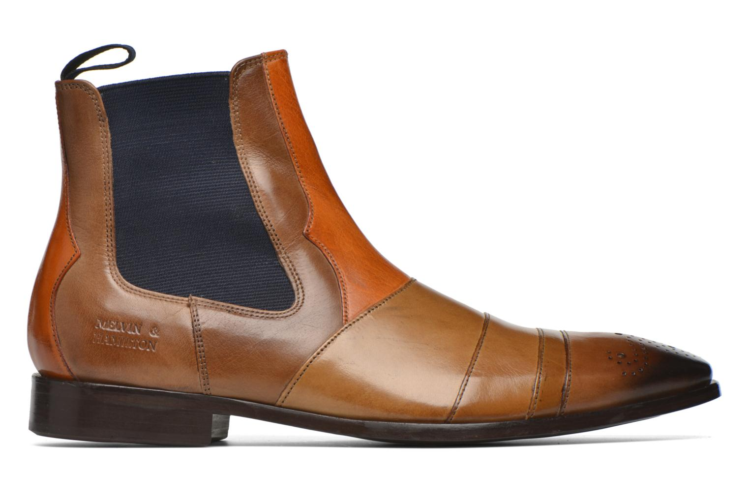 Ankle boots Melvin & Hamilton Elvis 12 Brown back view