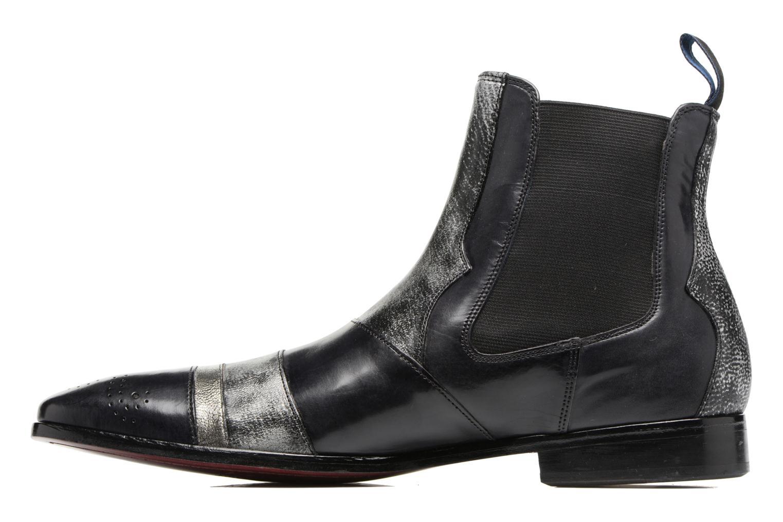 Bottines et boots Melvin & Hamilton Elvis 12 Noir vue face