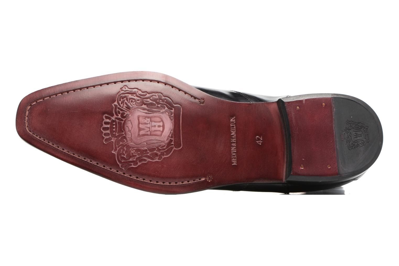 Bottines et boots Melvin & Hamilton Elvis 12 Noir vue haut