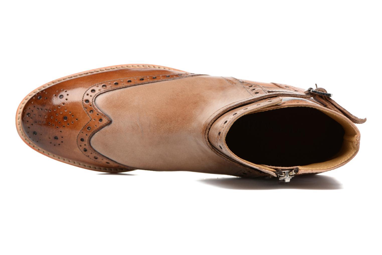 Boots en enkellaarsjes Melvin & Hamilton Amelie 11 Bruin links