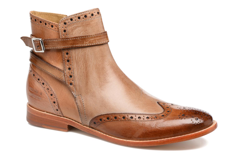 Ankelstøvler Melvin & Hamilton Amelie 11 Brun detaljeret billede af skoene