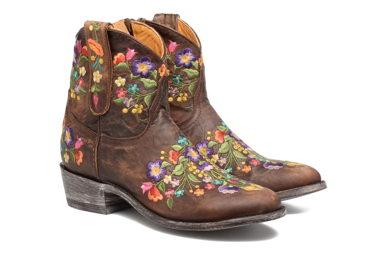 Bottines et boots Mexicana Sorazipper Multicolore vue 3/4
