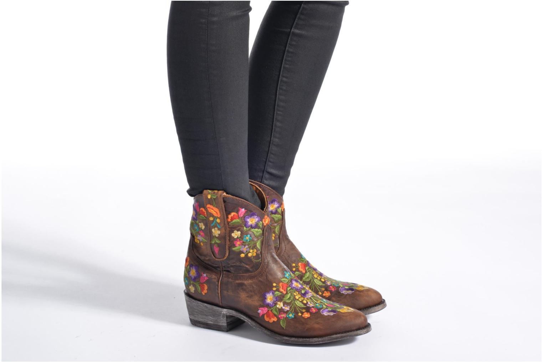 Boots en enkellaarsjes Mexicana Sorazipper Multicolor onder