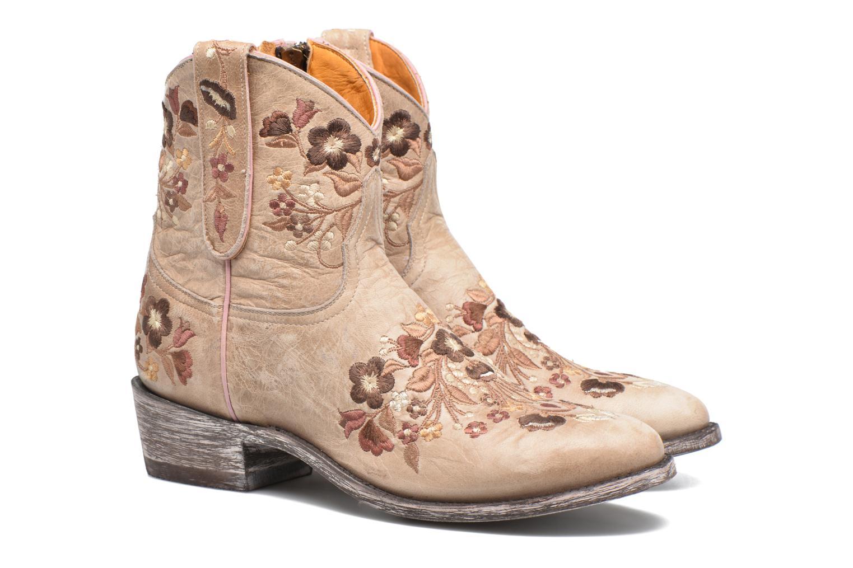 Ankle boots Mexicana Sorazipper Multicolor 3/4 view