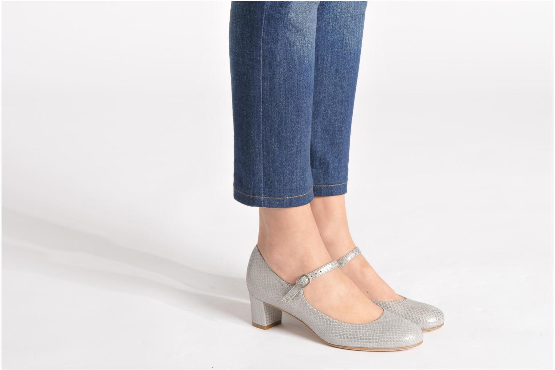 Zapatos de tacón Avril Gau Rossy Plateado vista de abajo