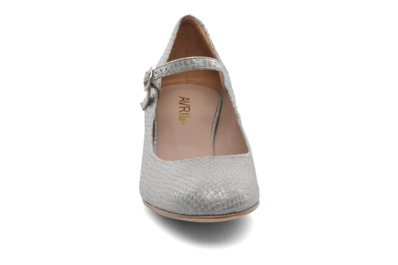 Zapatos de tacón Avril Gau Rossy Plateado vista del modelo
