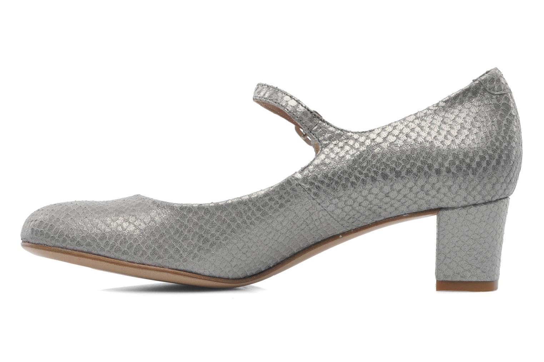 Zapatos de tacón Avril Gau Rossy Plateado vista de frente