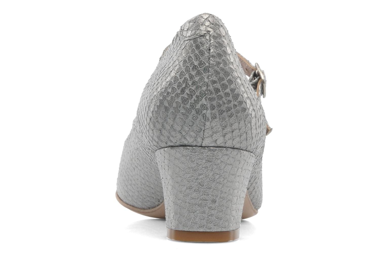 Zapatos de tacón Avril Gau Rossy Plateado vista lateral derecha