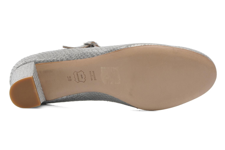 Zapatos de tacón Avril Gau Rossy Plateado vista de arriba