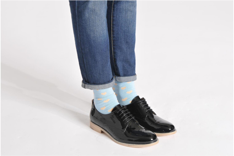Chaussures à lacets Georgia Rose Parjoo Rose vue bas / vue portée sac