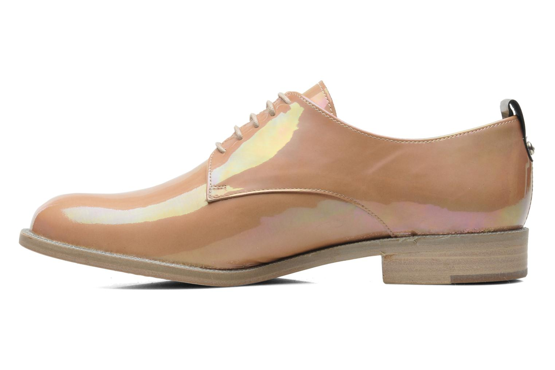 Chaussures à lacets Georgia Rose Parjoo Rose vue face