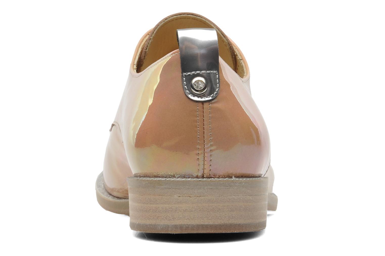 Chaussures à lacets Georgia Rose Parjoo Rose vue droite