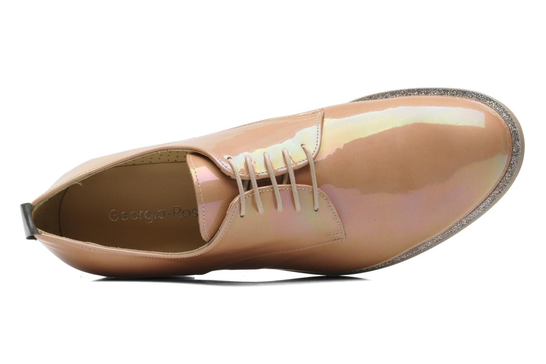 Chaussures à lacets Georgia Rose Parjoo Rose vue gauche