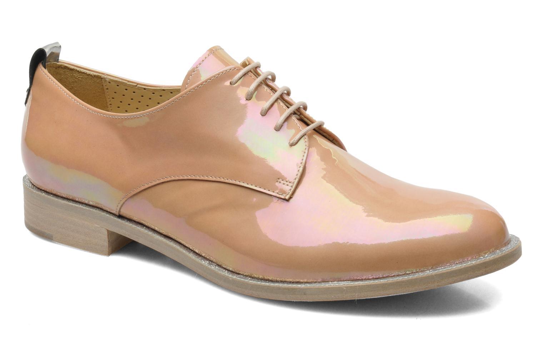 Chaussures à lacets Georgia Rose Parjoo Rose vue détail/paire