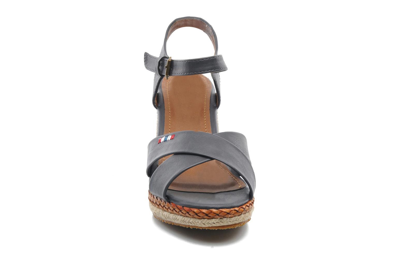 Sandales et nu-pieds I Love Shoes Suradoo Bleu vue portées chaussures