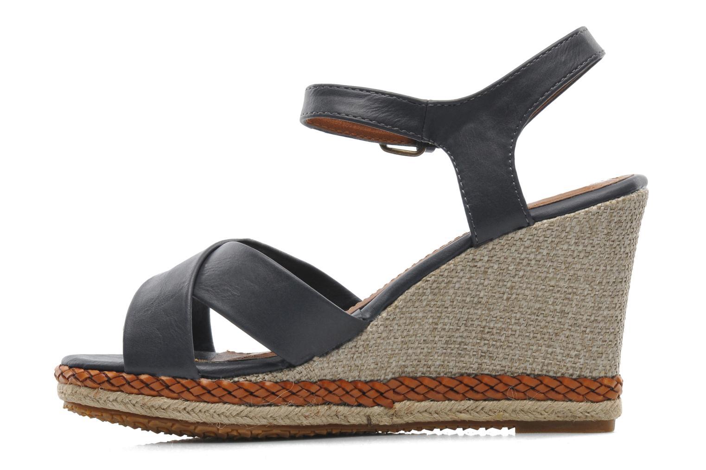 Sandales et nu-pieds I Love Shoes Suradoo Bleu vue face