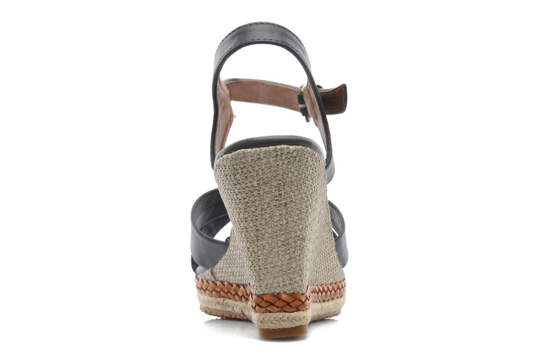 Sandales et nu-pieds I Love Shoes Suradoo Bleu vue droite