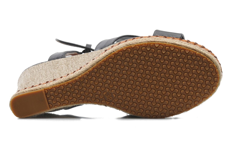 Sandales et nu-pieds I Love Shoes Suradoo Bleu vue haut