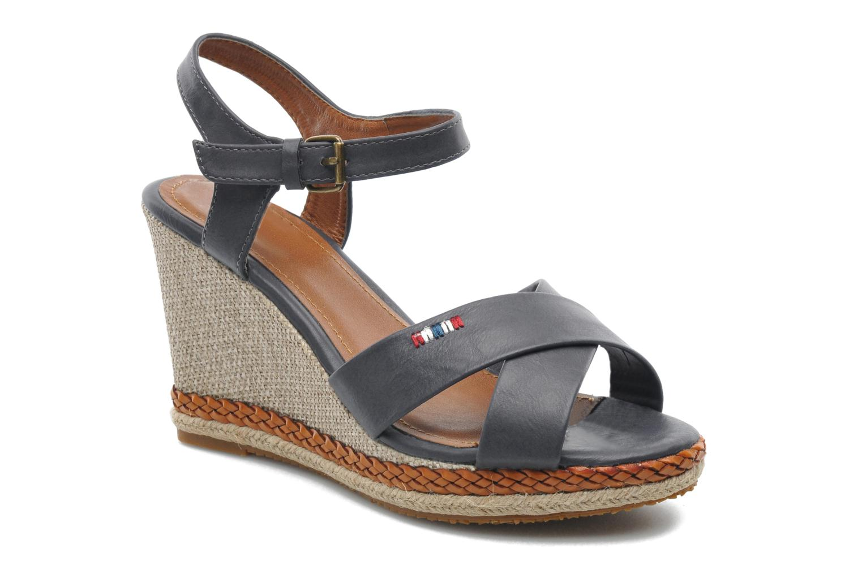 Sandales et nu-pieds I Love Shoes Suradoo Bleu vue détail/paire