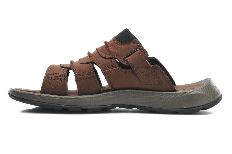 Zapatillas de deporte Columbia Corniglia II Marrón vista de frente