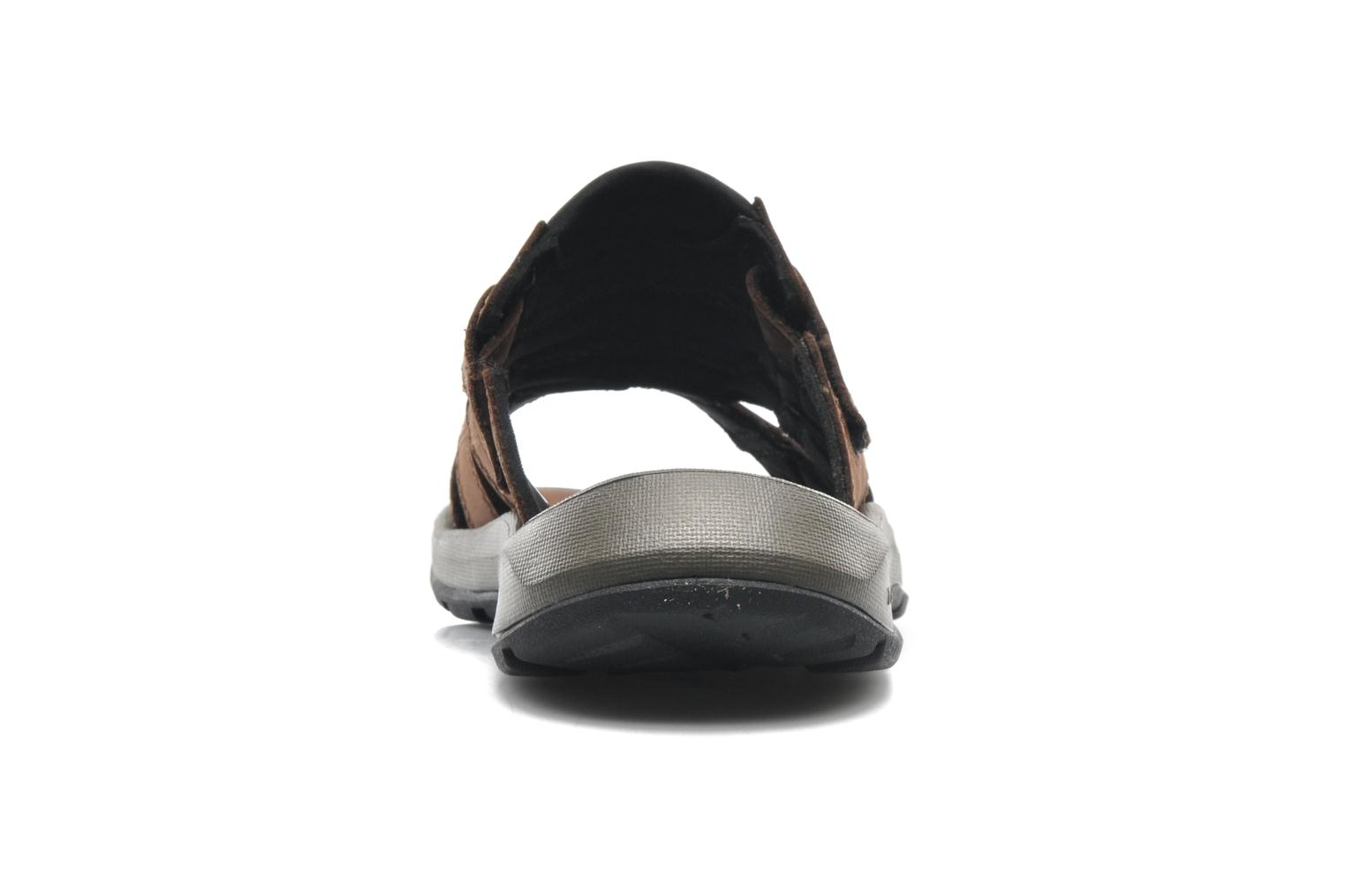 Sport shoes Columbia Corniglia II Brown view from the right
