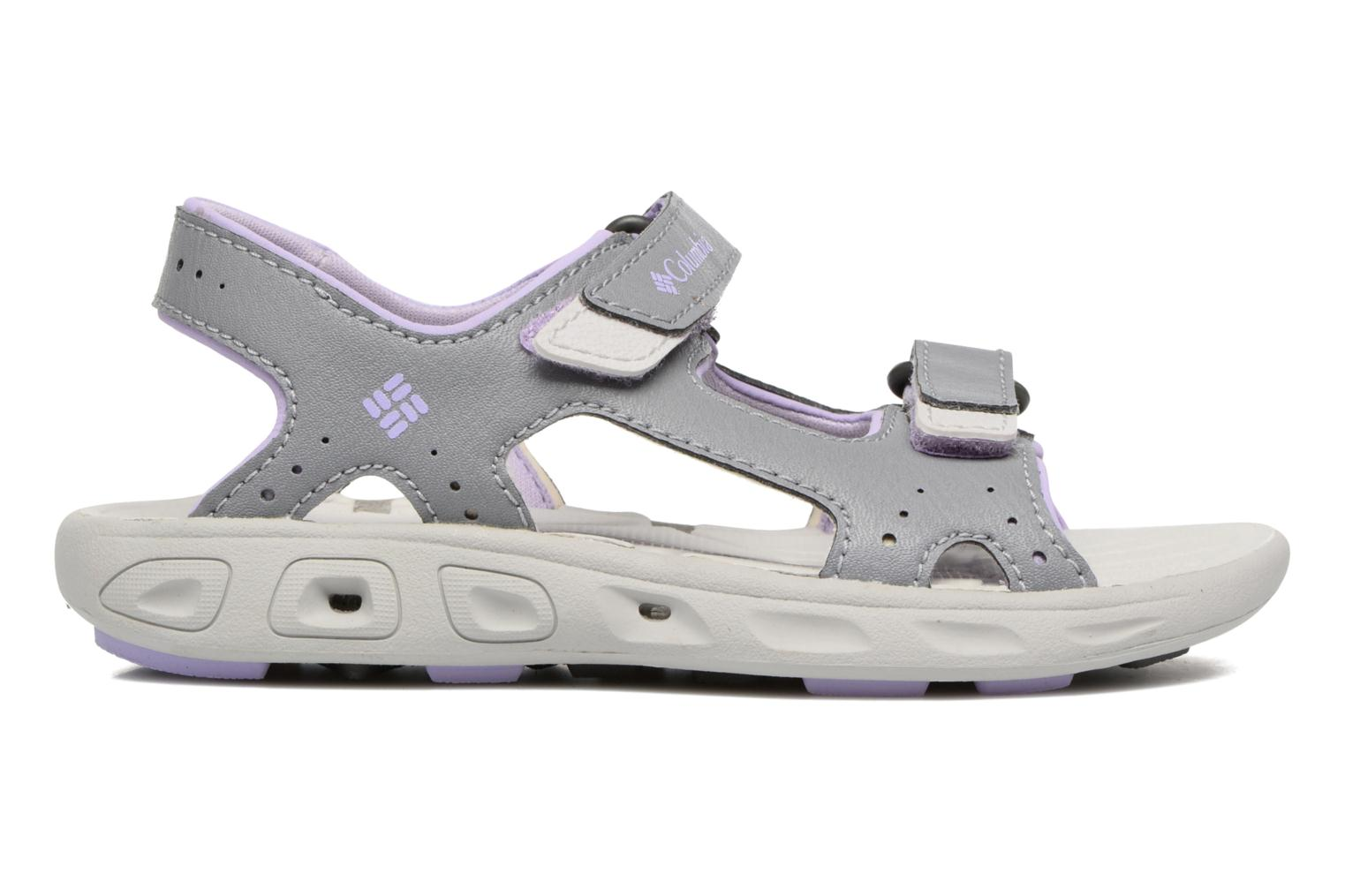 Sandalias Columbia Childrens Techs Gris vistra trasera