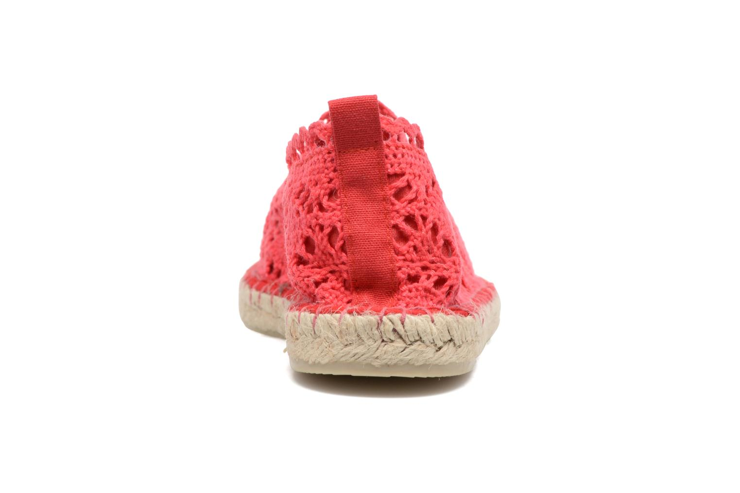 Espadrilles Colors of California Lara Red view from the right