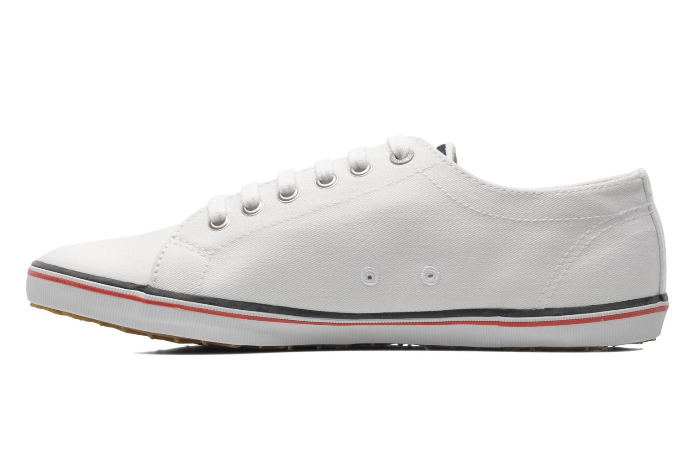 Sneaker Fred Perry Kingston Twill weiß ansicht von vorne