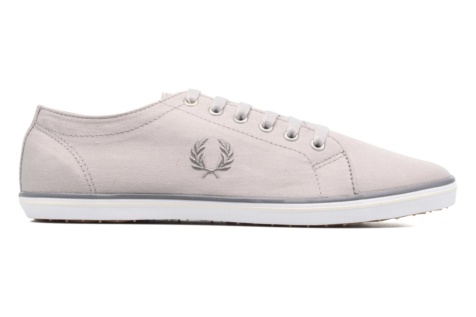 Baskets Fred Perry Kingston Twill Gris vue derrière