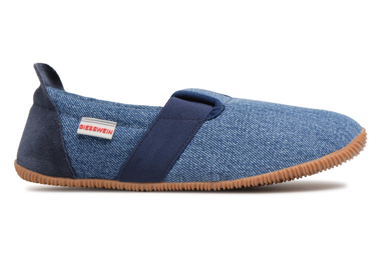 Pantofole Giesswein Söll Slim Fit Azzurro immagine posteriore