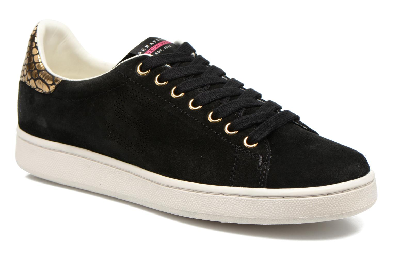 Sneakers Serafini J.Connors Zwart detail