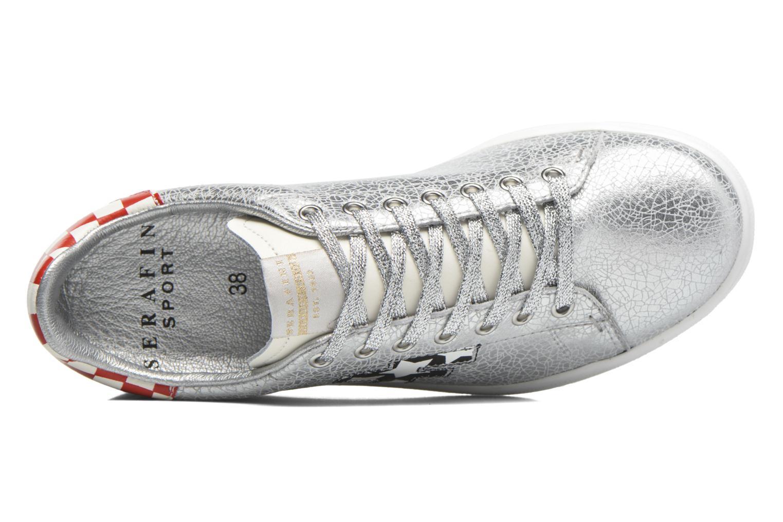 Sneakers Serafini J.Connors Zilver links