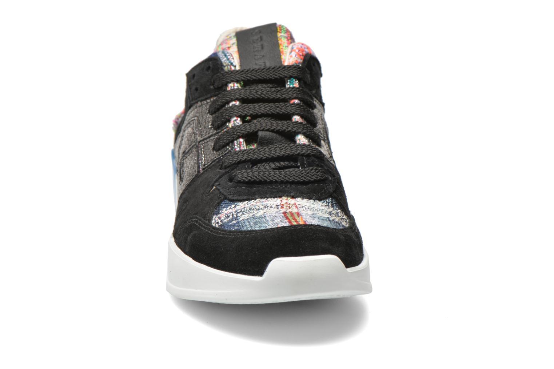 Baskets Serafini Chicago Multicolore vue portées chaussures