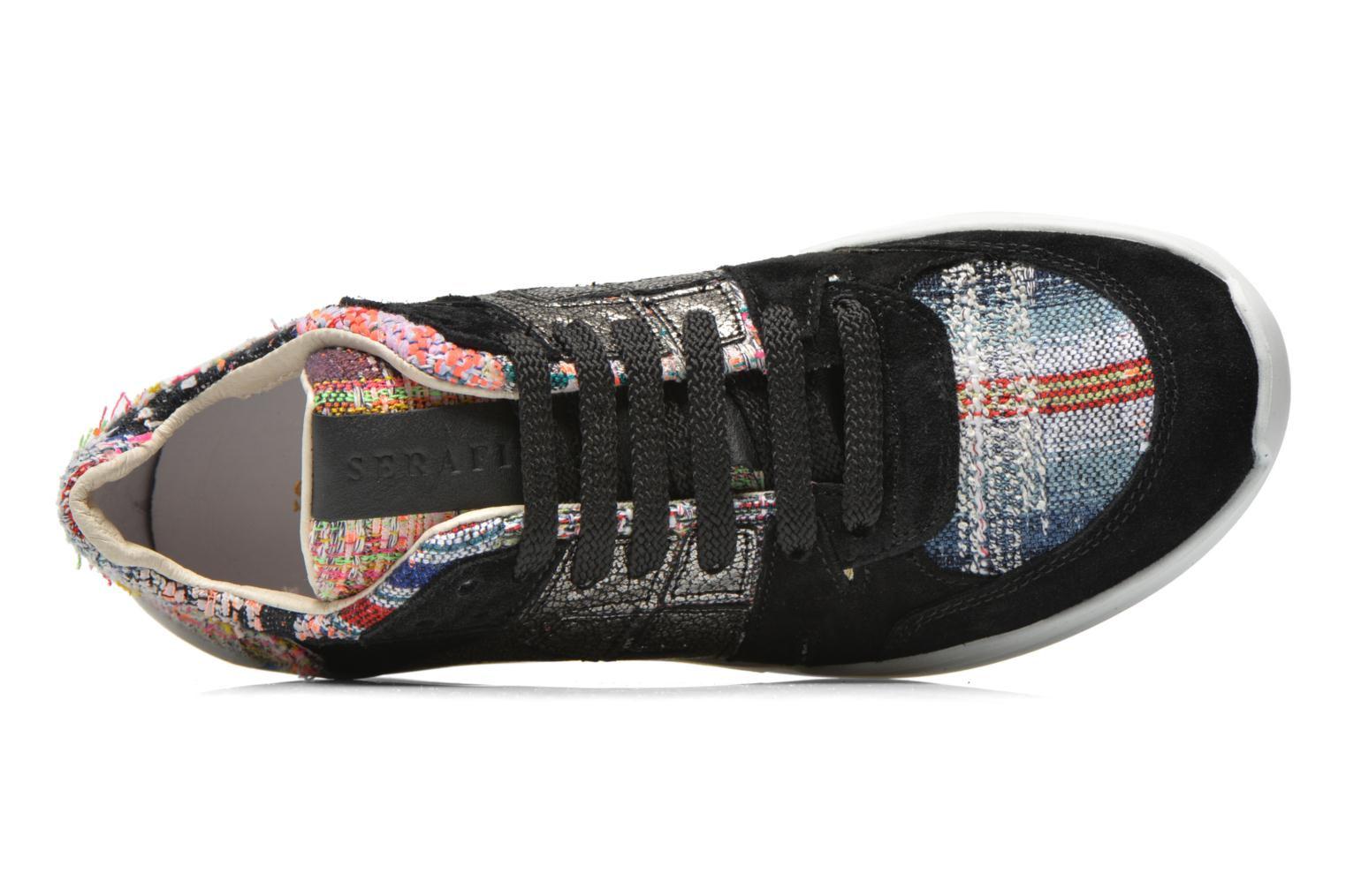 Baskets Serafini Chicago Multicolore vue gauche