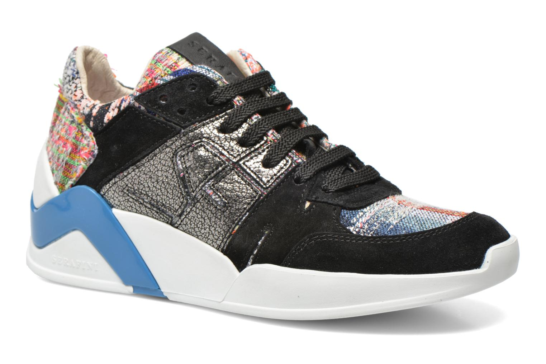 Baskets Serafini Chicago Multicolore vue détail/paire
