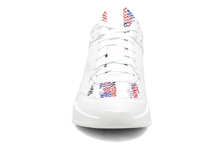 Baskets Serafini Chicago Blanc vue portées chaussures