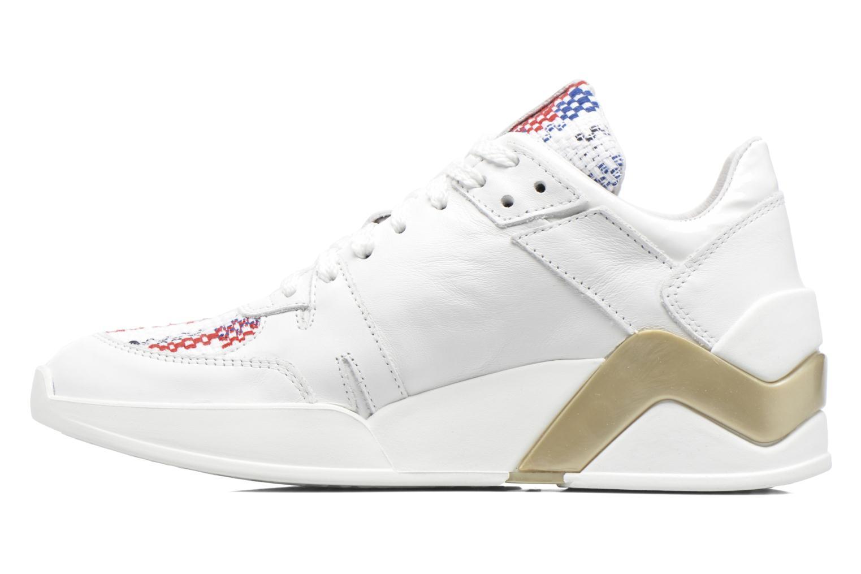 Sneakers Serafini Chicago Wit voorkant