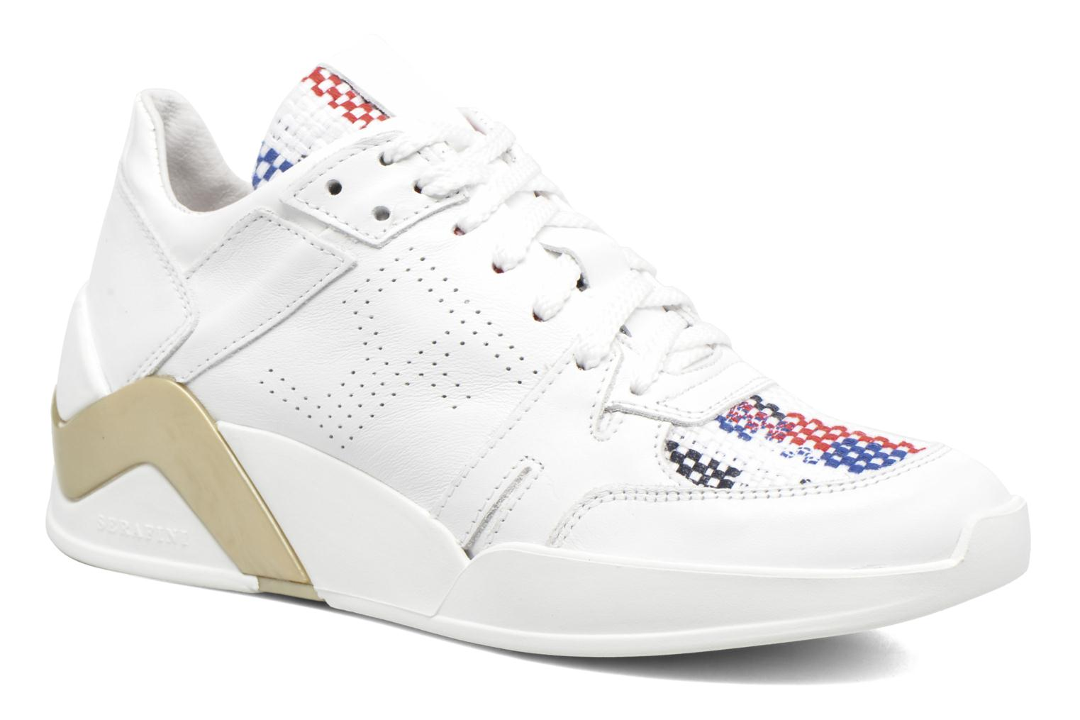 Sneakers Serafini Chicago Wit detail