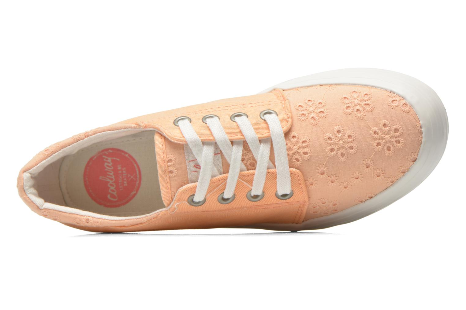 Trainers Coolway Dea Orange view from the left