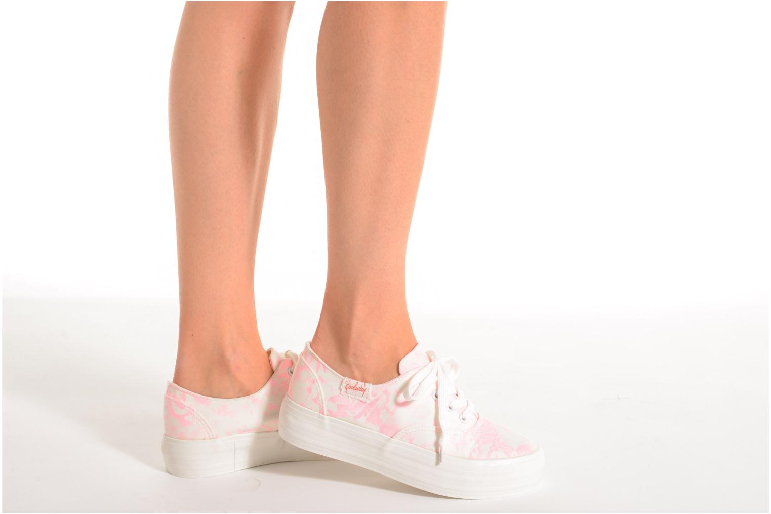 Trainers Coolway Dodo Pink view from underneath / model view