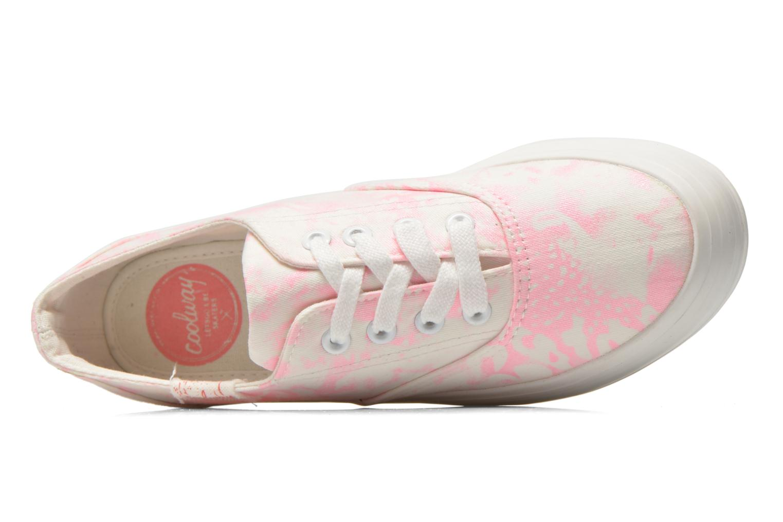Sneaker Coolway Dodo rosa ansicht von links